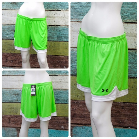 240a54157 Under Armour Shorts   Green Maquina Large Womens Nwt   Poshmark